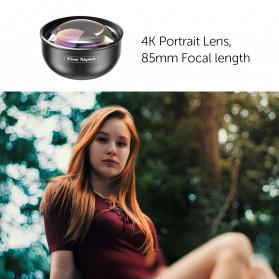 APEXEL Telephoto Lens Smartphone 3x Zoom 85mm - APL-PR85 - Black - 7
