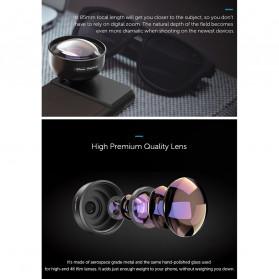 APEXEL Telephoto Lens Smartphone 3x Zoom 85mm - APL-PR85 - Black - 8