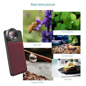 APEXEL Super Macro Lens Smartphone 40-70mm - APL-PR50 - Black - 5