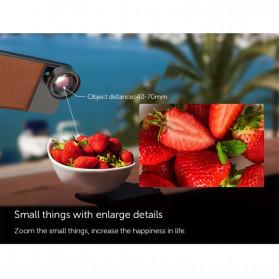 APEXEL Super Macro Lens Smartphone 40-70mm - APL-PR50 - Black - 8