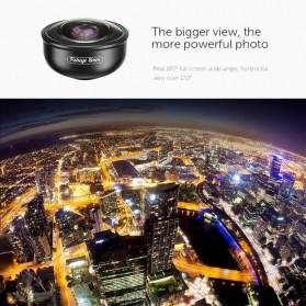 APEXEL Fisheye Lens Smartphone 8mm - APL-PR8 - Black - 2