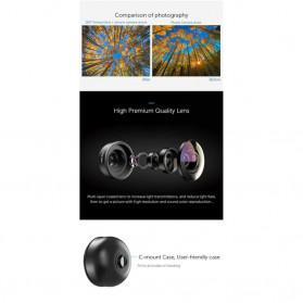 APEXEL Fisheye Lens Smartphone 8mm - APL-PR8 - Black - 3