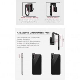 APEXEL Fisheye Lens Smartphone 8mm - APL-PR8 - Black - 4