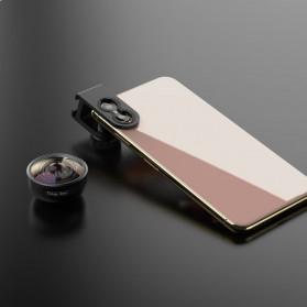APEXEL Fisheye Lens Smartphone 8mm - APL-PR8 - Black - 5