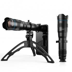 APEXEL Lensa Telephoto Lens Kit 36x + SwitchPod Mini Tripod - APL-JS36XJJ04 - Black