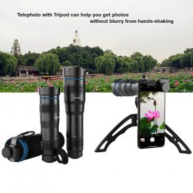 APEXEL Lensa Telephoto Lens Kit 36x + SwitchPod Mini Tripod - APL-JS36XJJ04 - Black - 3