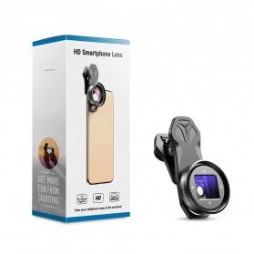 APEXEL Lensa Kamera Smartphone Wide Angle Screen Anamorphic 1.33X - APL-HBHDAN - Black