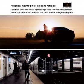 APEXEL Lensa Kamera Smartphone Wide Angle Screen Anamorphic 1.33X - APL-HBHDAN - Black - 3
