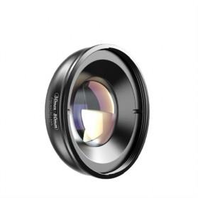 APEXEL Lensa Kamera Smartphone Universal Clip 30-80mm Macro Lens - APL-HB3080 - Black - 4