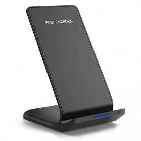 FDGAO Qi Wireless Charger Vertical Dock 10W - FD10W - Black