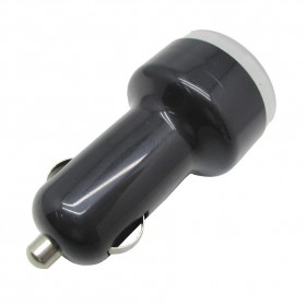 NOOSY Mini USB Car Charger for Smartphone - CC02 - Black