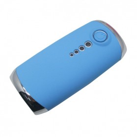 NOOSY Mobile Power Bank 4000mAh with Tomsis Bluetooth Remote Shutter for Android and iOS - BR06 - Blue