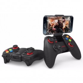 Ipega Dark Knight Wireless Bluetooth Gamepad for Android and iOS - PG-9067 - Black - 2