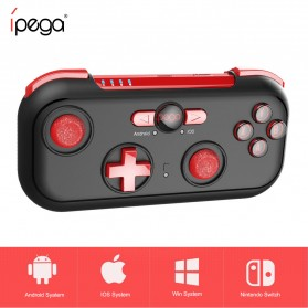 Ipega Bluetooth Gamepad for Nintendo Switch Smartphone PC - PG-9085 - Black - 2