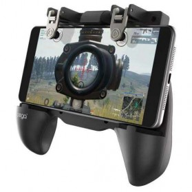 Ipega Gamepad Grip Tombol Trigger Aim Touchpad L1 R1 PUBG Fortnite - PG-9117 - Black