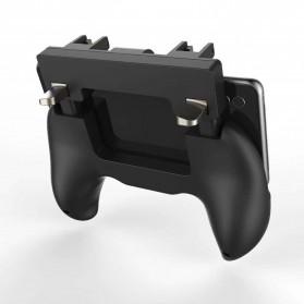 Ipega Gamepad Grip Tombol Trigger Aim Touchpad L1 R1 PUBG Fortnite - PG-9117 - Black - 4