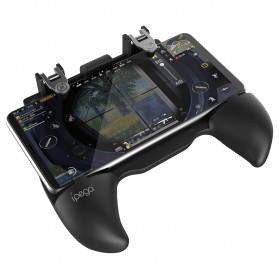 Ipega Gamepad Grip Tombol Trigger Aim Touchpad L1 R1 PUBG Fortnite - PG-9117 - Black - 5