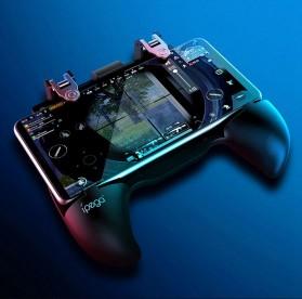 Ipega Gamepad Grip Tombol Trigger Aim Touchpad L1 R1 PUBG Fortnite - PG-9117 - Black - 10