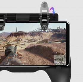 Ipega Gamepad Grip Tombol Trigger Aim Touchpad L1 R1 PUBG Fortnite - PG-9117 - Black - 11