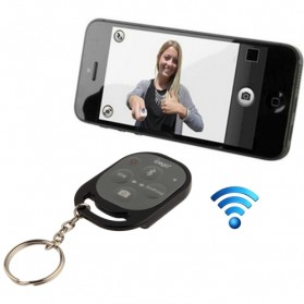 Ipega Tomsis Bluetooth Remote Control for Smartphone - PG-9019 - Black