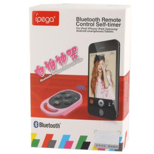 Ipega Tomsis Bluetooth Remote Control for Smartphone - PG-9019 - Black - 4 ...