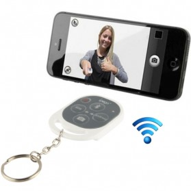 Tomsis Tombol Narsis - Ipega Tomsis Bluetooth Remote Control for Smartphone - PG-9019 - Snow White