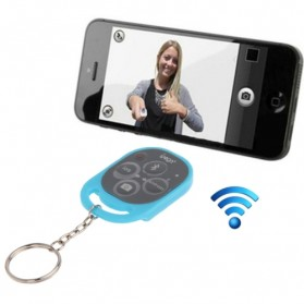 Ipega Tomsis Bluetooth Remote Control for Smartphone - PG-9019 - Baby Blue
