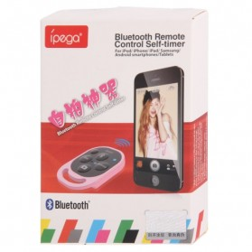 Ipega Tomsis Bluetooth Remote Control for Smartphone - PG-9019 - Baby Blue - 4