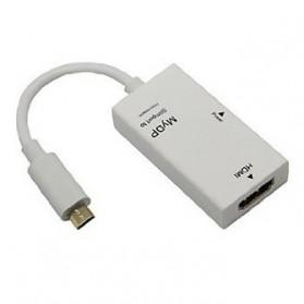 SlimPort HDMI Adapter for Google Nexus 4, LG Optimus G Pro - White