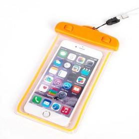 Tas Waterproof Luminous untuk Smartphone 4.5 - 6 Inch - ABS175-100 - Orange