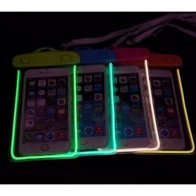 Tas Waterproof Luminous untuk Smartphone 4.5 - 6 Inch - ABS175-100 - Blue - 2