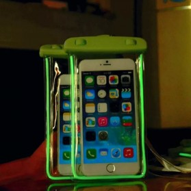 Tas Waterproof Luminous untuk Smartphone 4.5 - 6 Inch - ABS175-100 - Blue - 3