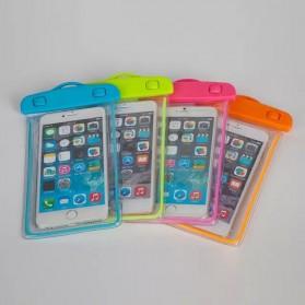 Tas Waterproof Luminous untuk Smartphone 4.5 - 6 Inch - ABS175-100 - Blue - 4