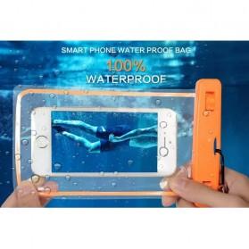 Tas Waterproof Luminous untuk Smartphone 4.5 - 6 Inch - ABS175-100 - Blue - 5