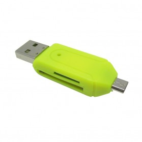 OTG Smart Card Reader Connection Kit - MUO-03 - Yellow