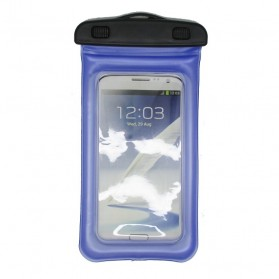 Waterproof Bag for Smartphone 4.7 - 5.5 Inch - ABS180-105 - Pacific Blue