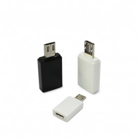 Fullink Micro USB SIII 11pin M  to  Micro USB SII 5pin F Adapter - OEM-203-000 - Black