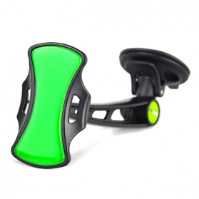 GripGo Universal Car Phone Mount - Black