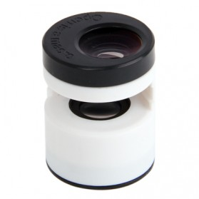Teog Photo Lens Kit 3 in 1 (180 Degree 0.28x Fisheye Lens + Wide Lens + Marco Lens) for iPhone 5 - White - 3