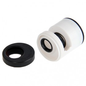 Teog Photo Lens Kit 3 in 1 (180 Degree 0.28x Fisheye Lens + Wide Lens + Marco Lens) for iPhone 5 - White - 5
