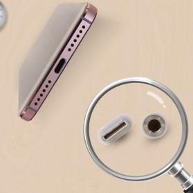 Google USB Type-C to 3.5mm Audio Jack Converter - FLK (ORIGINAL) - White - 4