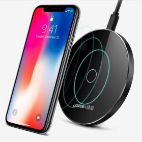 UGreen Qi Wireless Charger Dock Fast Charging 10W for Smartphone - Black - 2