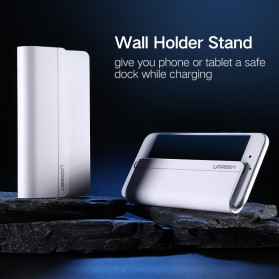 UGreen Smartphone Wall Stand Holder - LP108 - White - 2