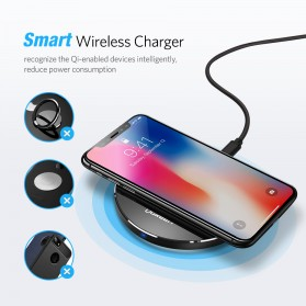 UGREEN Qi Wireless Charging Dock 10W - CD134 - Gray - 6