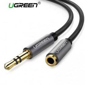 UGREEN Kabel Audio AUX 3.5mm Male to Female 1 Meter - AV118 - Black - 2