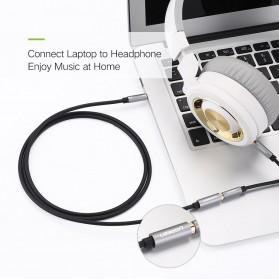 UGEEN Kabel Audio AUX 3.5mm Male to Female 1 Meter - AV118 - Black - 3