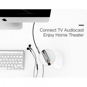 UGREEN Kabel Audio AUX 3.5mm Male to Female 1 Meter - AV118 - Black - 4