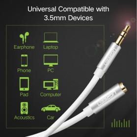 UGREEN Kabel Audio AUX 3.5mm Male to Female 1 Meter - AV118 - Black - 5