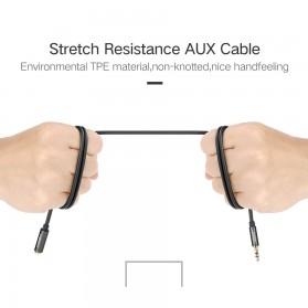UGEEN Kabel Audio AUX 3.5mm Male to Female 1 Meter - AV118 - Black - 10