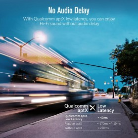 UGreen Audio Bluetooth Transmitter aptX Optical Plug - 50213 - Black - 2